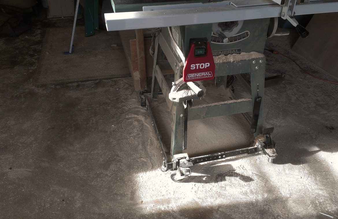 7 - FR table saw